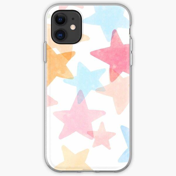 Patterns everyday | Stars  iPhone Soft Case