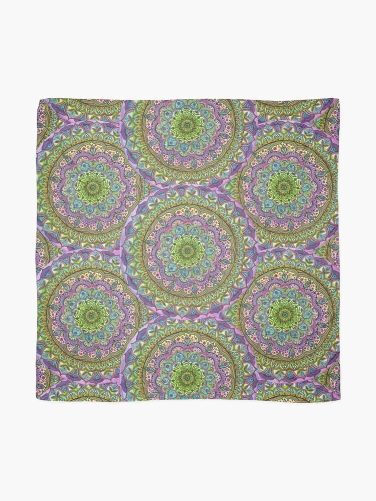 Alternative Ansicht von Floral Mandala Tuch