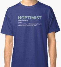 Hoptimist Design for Craft Beer Lovers Classic T-Shirt