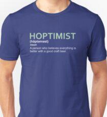 Hoptimist Design for Craft Beer Lovers T-Shirt