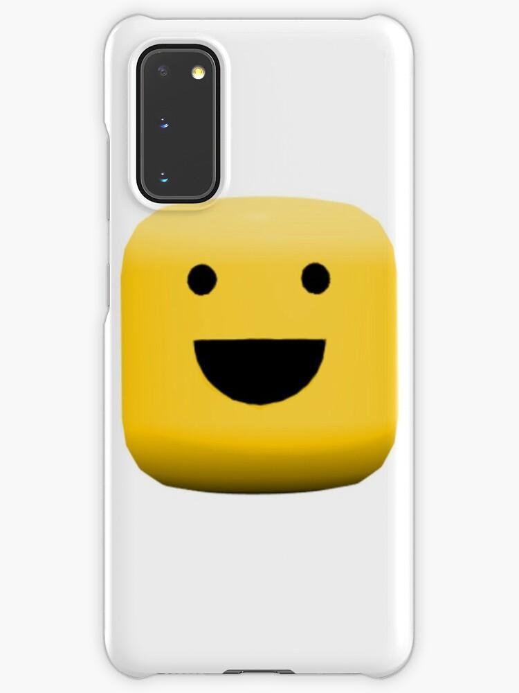 Roblox Noob Picture Happy Roblox Noob Case Skin For Samsung Galaxy By Inoobe Redbubble