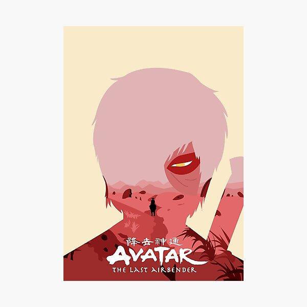 Avatar The Last Airbender - Zuko Photographic Print