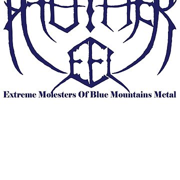 Mother Eel Symmetry Logo Blue by MotherEel
