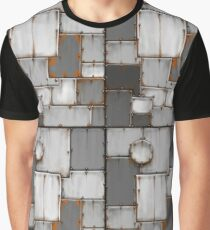 rusty steel plated armour  Graphic T-Shirt