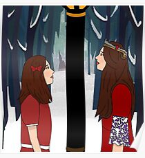 Once A King Or Queen Of Narnia Poster