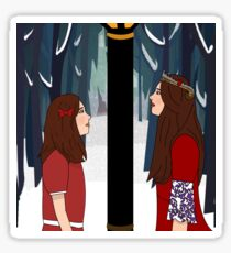 Once A King Or Queen Of Narnia Sticker