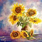 Sunflowers in Bloom by Jennifer Ingram