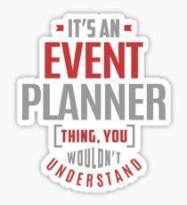 Event Planner Sticker
