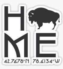 East Aurora, NY - Home Sticker