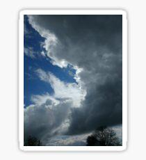 cloudy day in heaven  Sticker