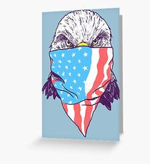 Bald Bandit Greeting Card