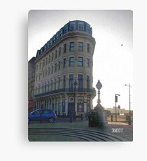 Margate's Flat Iron Building Metal Print