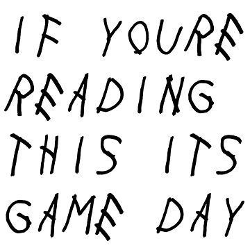 if youre reading this its game day by catscollegecuts