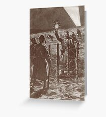 The Christmas Truce, Western Front in 1914 Greeting Card