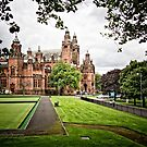 Side View of Kelvingrove Art Gallery and Museum by Yannik Hay