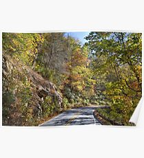 A Scenic Highway Poster
