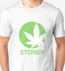 Stoner Weed Leaf Design Unisex T-Shirt