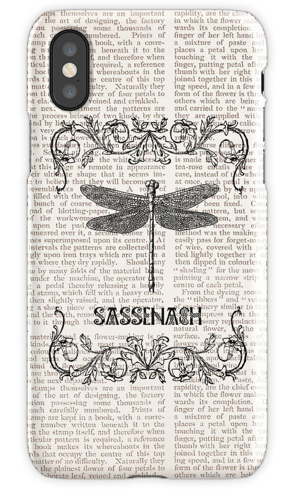 how to add a calendar to iphone quot dragonfly sassenach paper quot iphone cases amp skins by 7343