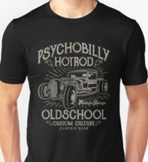 Psychobilly Old School Hotrod Unisex T-Shirt