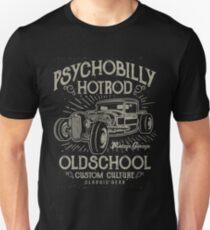 Psychobilly Old School Hotrod T-Shirt
