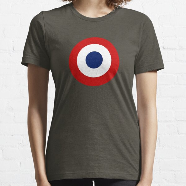 French army roundel / Cockade of the French army Essential T-Shirt