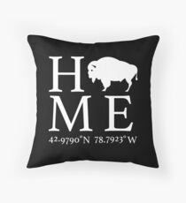 Amherst, NY - Home Throw Pillow