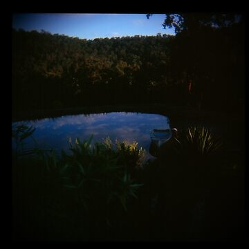 Holga madness......little clouds at dawn in daniland by JuileeP