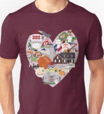 We Love Frisco Texas T-Shirt
