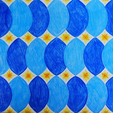 Blue & Yellow - Inspired by Azulejos by samby