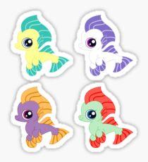 my little pony baby sea ponies Sticker