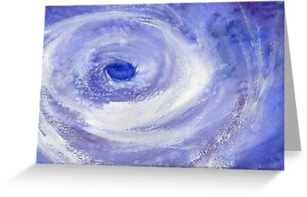 Calm in the Center of the Storm by Diane Hall