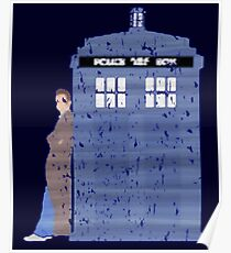 The Doctor And TARDIS  Poster