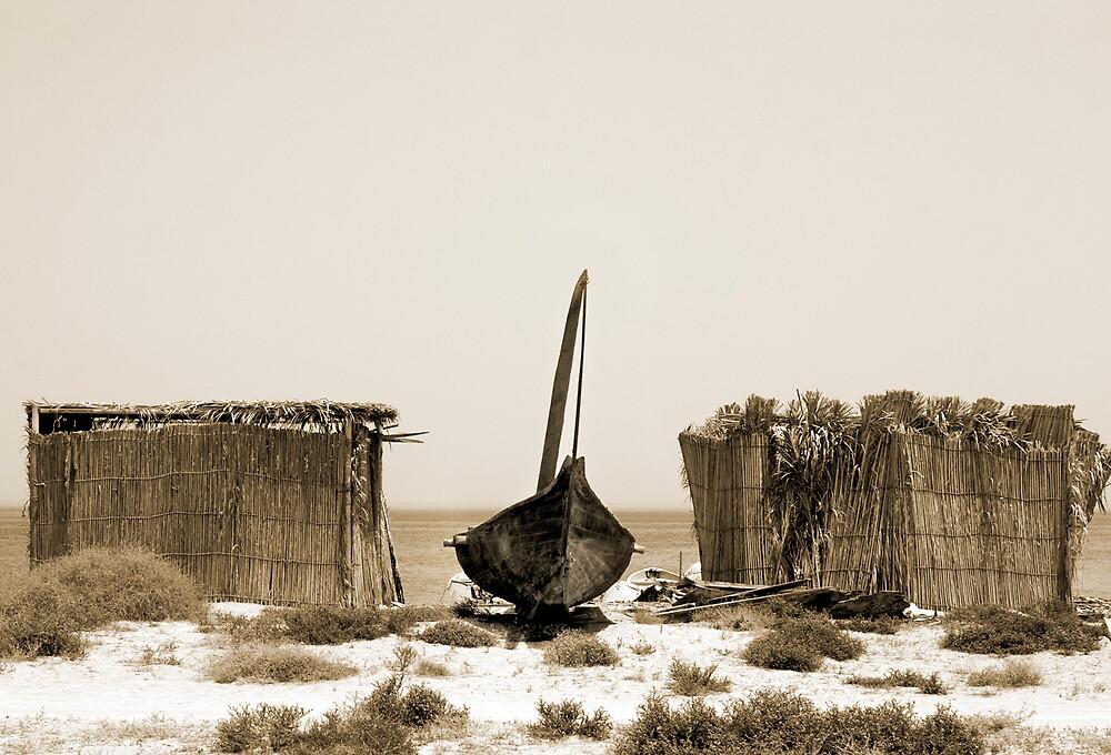 Traditional Boat, Azaiba Beach by marycarr