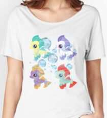 my little pony baby sea ponies Women's Relaxed Fit T-Shirt