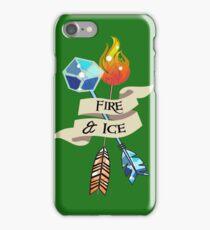 Fire & Ice Arrows iPhone Case/Skin