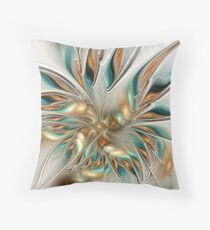 Liquid Flame Throw Pillow