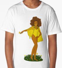 Sunny Flowers Long T-Shirt