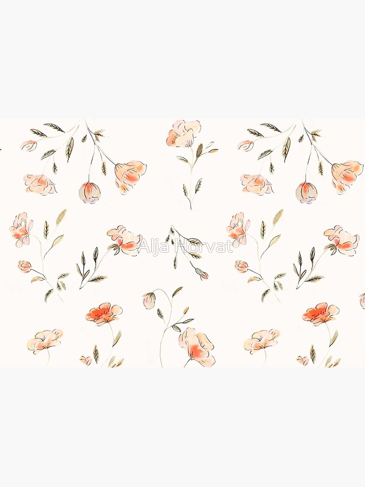 Watercolor Floral Pattern by chotnelle