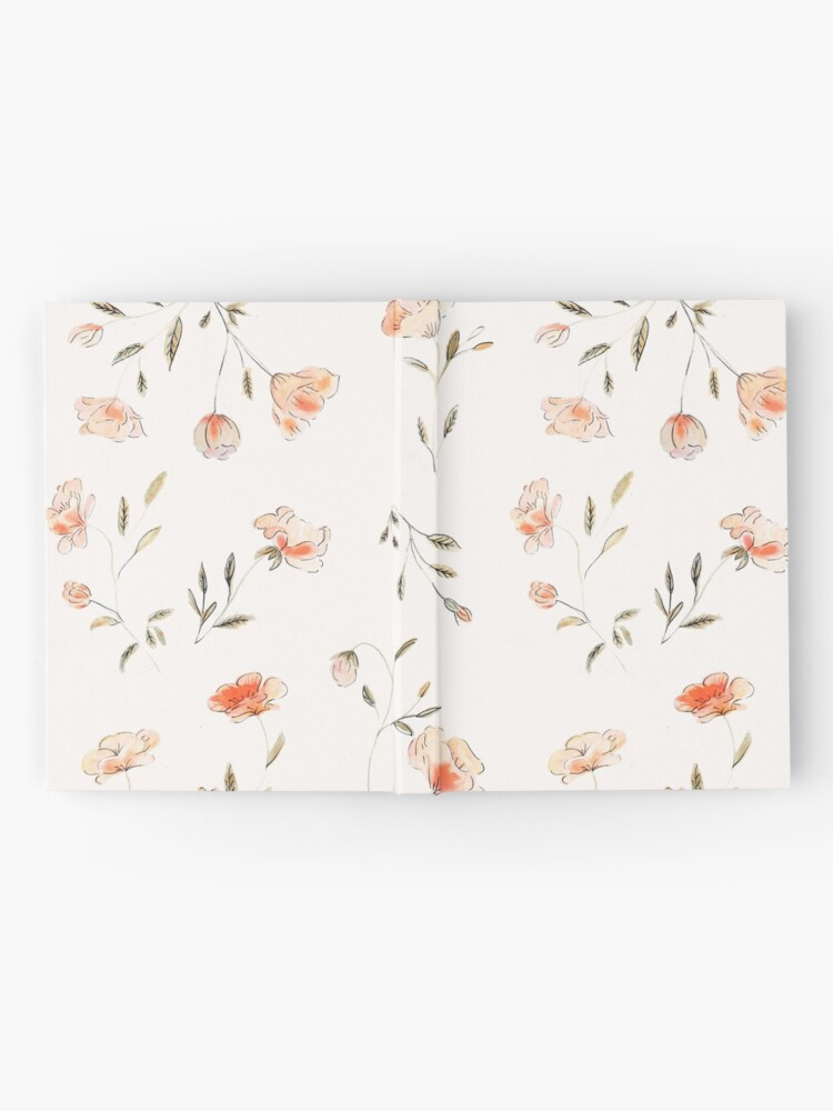 Alternate view of Watercolor Floral Pattern Hardcover Journal