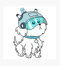 -RICK AND MORTY- Lawnmower Dog Photographic Print