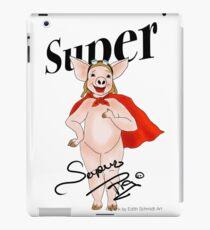 Super Pig  iPad Case/Skin