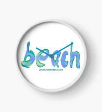 beach 007 Clock