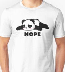 NOPE - Depressed Panda Unisex T-Shirt