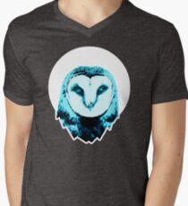 Owl Moon Men's V-Neck T-Shirt