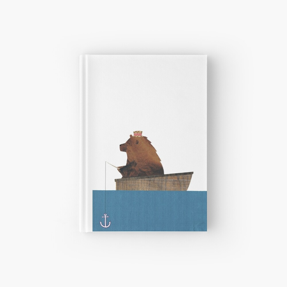 Cheltenham der Bär: Angelausflug Notizbuch