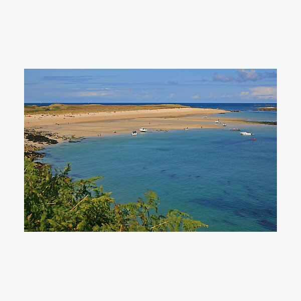 Shell Bay, Herm Photographic Print