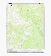 USGS TOPO Map Georgia GA Apalachee 244916 1972 24000 iPad Case/Skin
