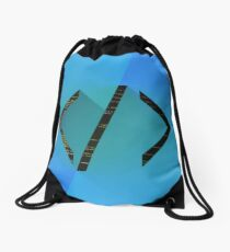 Tags Drawstring Bag