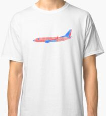 Boeing 737 - Red White & Blue Classic T-Shirt