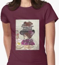 SteamPunk Tempest In A TeaCup Womens Fitted T-Shirt